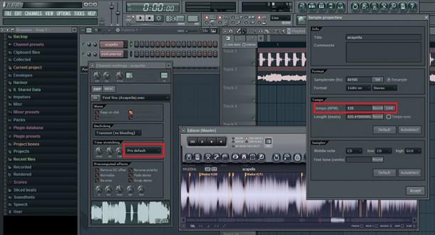 mixer les acapella dans fl studio
