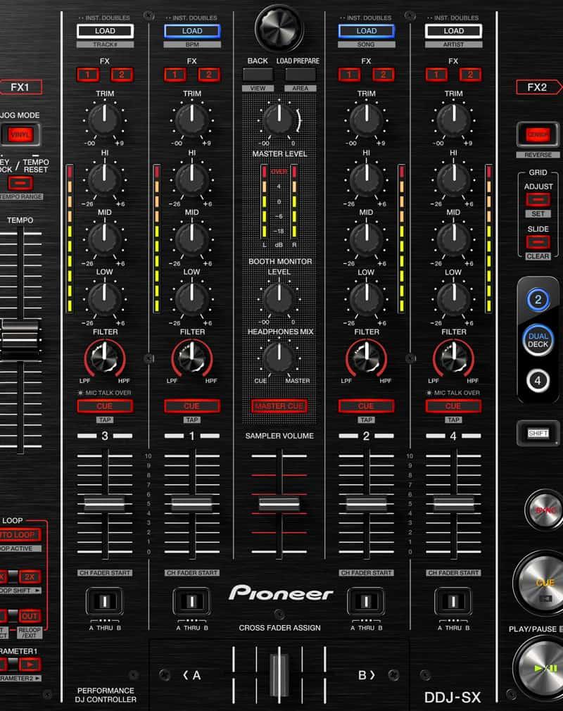 Pioneer DDJ-SX table de mixage